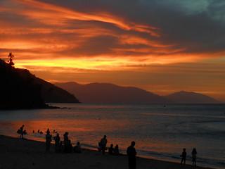Sunset in Puerto Galera , Mindoro , Philippines