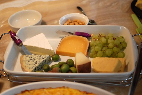 My cheese plate offering