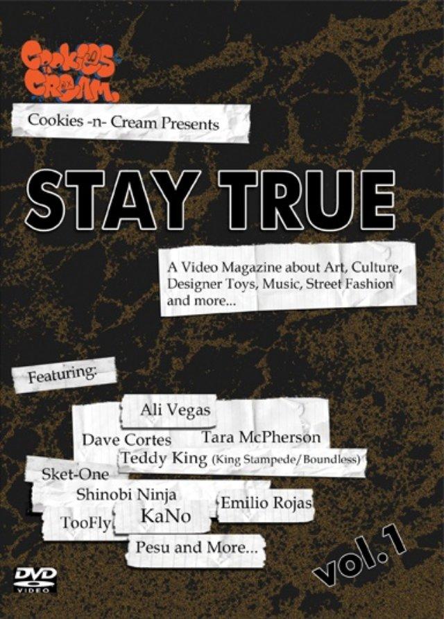 Stay True DVD cover