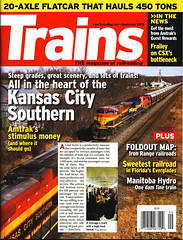 Trains Magazine-September 2009-My Picture (-Tripp-) Tags: cta publictransportation picture pic el september l passenger masstransit load chicagotransitauthority trainsmagazine september2009 passengertransportation loadfactor