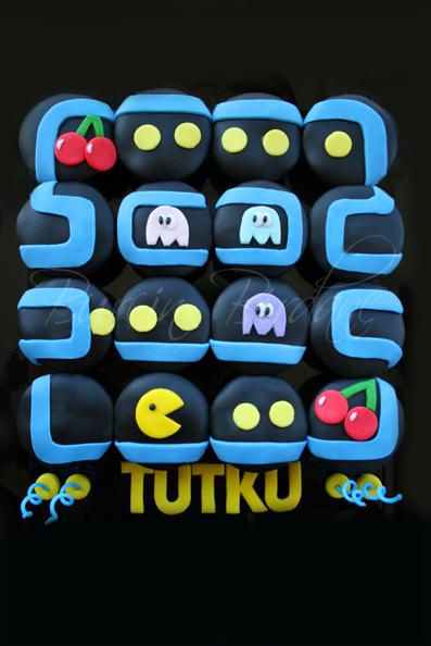 Pacman Cupcake 1