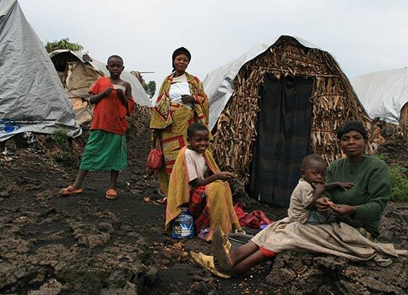 goma uprchlický tábor