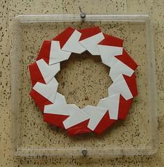 Ring 16 von Tomoko Fuse - Vorderseite (Tagfalter) Tags: origami ring tomokofuse