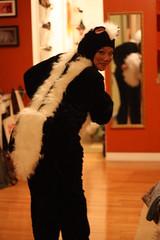 My skunk butt (gogoyubari54) Tags: newyorkcity costumes halloween brooklyn chelsea williamsburg ltrain unionpool greenpoint mcgolrickpark