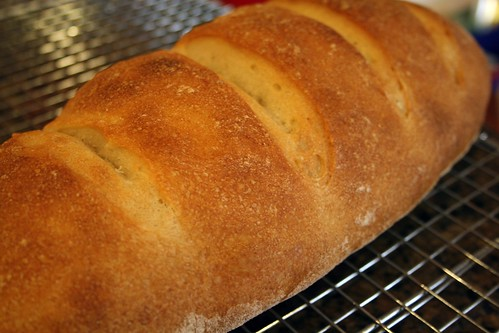 Fresh hearth bread