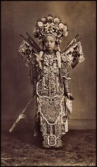 Cholon Actress, Cholon, Saigon, French Cochinchina [c1900's] Attribution Unk [RESTORED] (ralphrepo) Tags: vietnam 1900 restored chinois saigon chinesetheater troupe cholon cochinchina annam