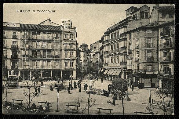 Plaza de Zocodover a inicios del siglo XX