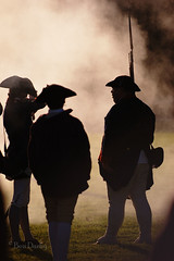 Musket Fire (Ben_D) Tags: history virginia smoke d70s williamsburg colonialwilliamsburg livinghistory musket revolutionarycity