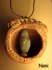"ArqUeologa  ""pequea diosa de la fertilidad"" (polymer clay) (NANIPOLLITO) Tags: clay diosa polymer arqueologa acrlicos"