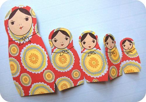 nesting dolls card 6