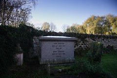 John and Mary Newton's grave
