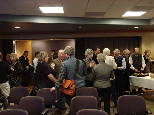 Reception following the lecture