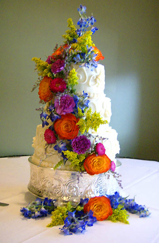 My father's wedding cake