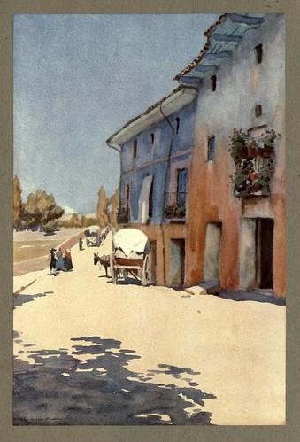 025-Pueblo de Soria-An artista in Spain 1914- Michael Arthur C.