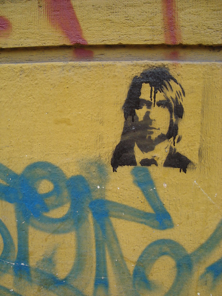 The World\'s Best Photos of nirvana and stencil - Flickr Hive Mind