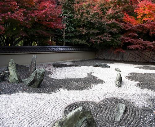 """The Garden of the Dragon"" at Ryogin-an by Mirei Shigemori, 1964"