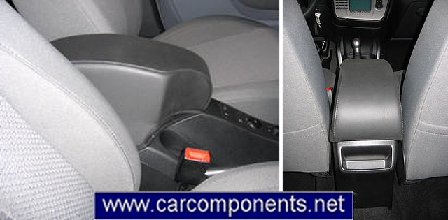 Seat Toledo 2005 - bracciolo portaoggetti - armrest - accoudoir - mittelarmlehne - reposabrazos – podlokotnik