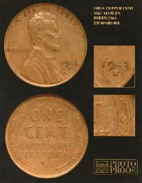 1943-S Copper Cent
