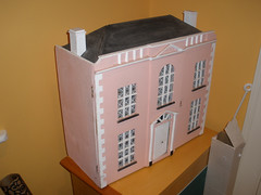M's dollhouse as she bought it