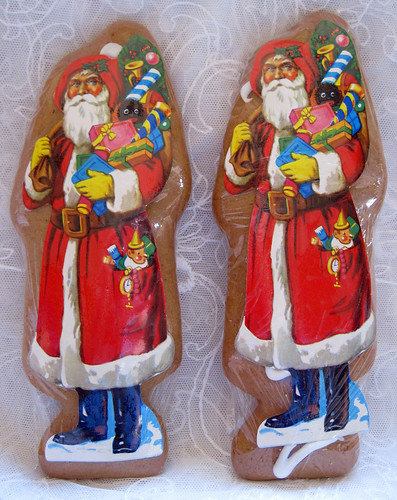 Santa Gingerbread Cookies