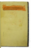 Title-page with title washed in red in Albertus Magnus [pseudo-]: Liber aggregationis, seu Liber secretorum de virtutibus herbarum, lapidum et animalium quorundam