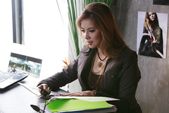 36 Christy คริสตี้ กิ้บสัน MV filming--เจ็บที่ไม่ได้เชิญ (Jep Tee Mai Dai Chuen)
