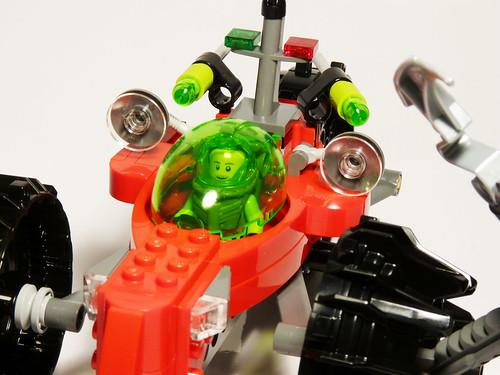 8059 - Seabed Scavenger - 2010 LEGO Atlantis - Detail 2
