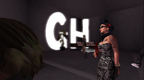 ghetto hype party in second life