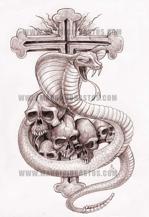 Cobra e Cruz