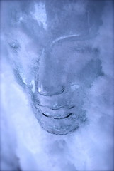 Cryogenical Youth (Tomitheos) Tags: portrait sculpture toronto canada flickr image head surrealism avatar picture optical pic science daily photograph kelvin temperature capture now today thermal 2010 bluehue subzero liquidnitrogen celsius fountainofyouth hypothermia cryogenic stockphotography thermoregulation ophthalmology thehumancondition crystalskull rankine hypothermic organtransplantation arcticspa frostysnowman snowicicles bytomitheos cryobiology frozenicehead freezingface cryotherapytreatment conjunctivallymphangiectasia cryogenicmask cryosleepcoma cryogenical