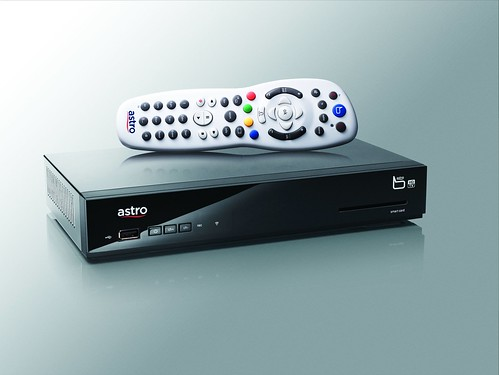 Astro B.yond Media Box and Remote Control