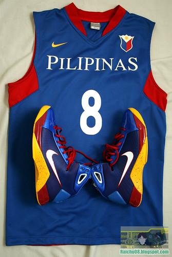 Team Pilipinas 09 Jersey + Pilipinas Hyperdunk 9/365