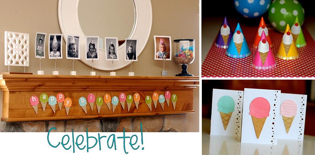ice cream party decorations