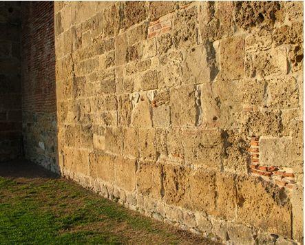 porzione di muro