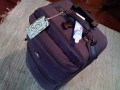 everything but the toothpaste (Mykl i am) Tags: travel suitcase ontheroad packed carryon travellight gypsying
