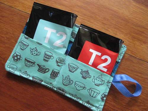 tea wallet with T2 tea