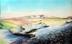 Caburn,My journey with light ! (BILBOV.(Lorus Maver)) Tags: light colour art contrast painting landscape artwork scenic watercolour balance discovery luminosity lorusmaver