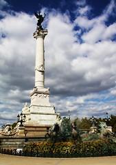 La Colonne des Girondins (EpicureanPiranha ~) Tags: canon bordeaux grandiose colonnedesgirondins eosdigitalrebelxsi historicalmonumentsofbordeaux
