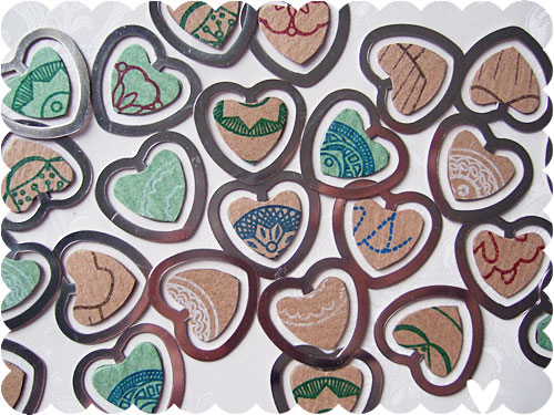 Gocco Book Hearts