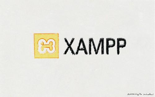 XAMPP Scribble