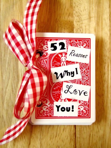 52 Reasons Why I Love You!