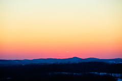 Distant Communications (Lenzair) Tags: sunset warm colours minimal telephoto mywinners