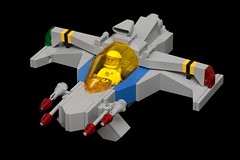 NCS Biplane (pasukaru76) Tags: classic lego space moc ncs starfighter sigma105mm
