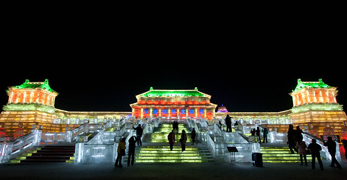 Ice Forbidden City at Harbin Ice World