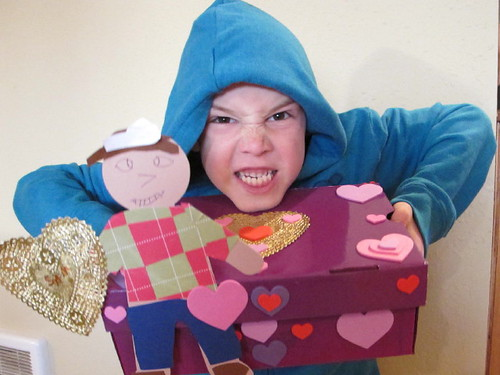Do we think he'll get any valentines?  :-)