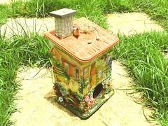 "Puxa Saco ""Minha Fazenda"" (Elizabeth Malvaccini) Tags: artesanato decoupage artesmanuais pucasaco"