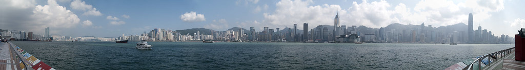 The grand view of Victoria Harbour