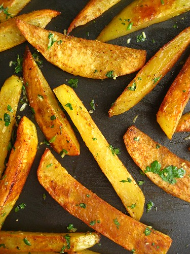 Roasted Spiced Potatoes