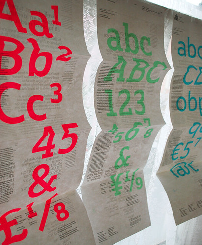 type specimen sheets