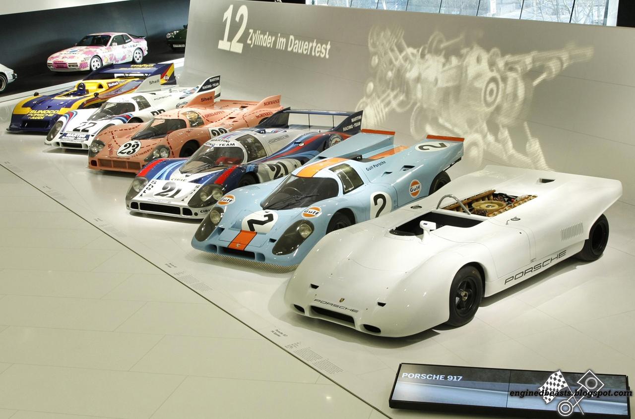 Porsche 917 variants